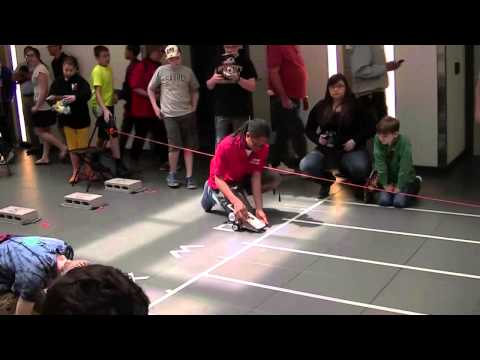 2014 US Middle School Science Team, Buffalo Jr. Solar Sprint Races 555