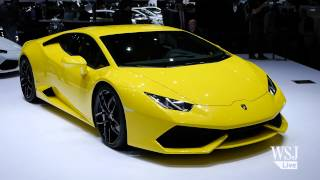 The New Lamborghini Huracan