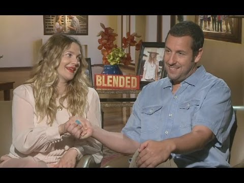Adam Sandler and Drew Barrymore Interview - Blended