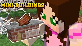 Minecraft: MINI BUILDINGS (SMALLEST BUILDINGS EVER!) Custom Command