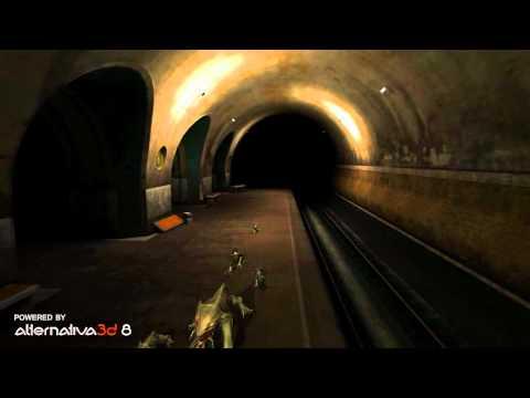 Первые подробности о Метро 2033 онлайн и первый ролик.