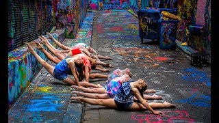 10 MINUTE PHOTO CHALLENGE WITH 8 INCREDIBLE DANCERS IN MELBOURNE (Rebecca Davies)
