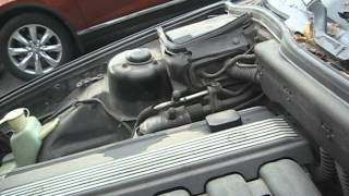 Как стучит неисправный VANOS на двигателе M50TUB25