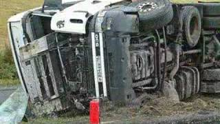 SCANIA Truck Crash Norway