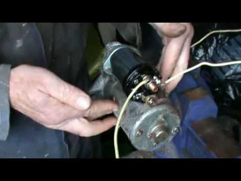 honda dream wiring diagram testing and replacing a pre engaged starter motor solenoid  testing and replacing a pre engaged starter motor solenoid