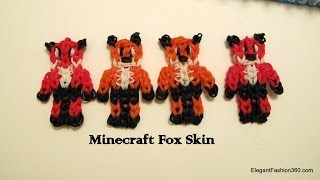 How To Make Minecraft Fox Skin On Rainbow Loom