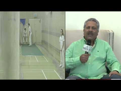 Hksz And Saeed Ajmal International Cricket Academy Launch Zaheer Abbas (English) 15 Sec