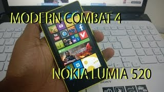 Modern Combat 4 Pra 512 RAM Windows Phone 8 PORTUGUÊS
