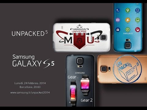 [ITA] UNPACKED 2014 - SAMSUNG GALAXY S5 - GEAR 2, NEO e FIT