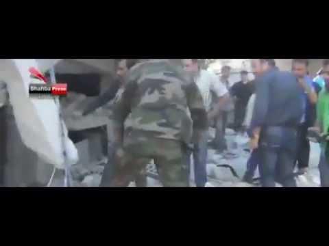 BBC News Syria conflict: Deadly air strike on Aleppo market