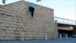 Técnica de escalar muros Parkour