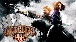 Bioshock Infinite Let´s Play Gameplay Parte 2 (ESP) | Mi primer vigorizador