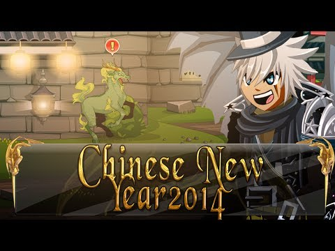 =AQW= Chinese New Year 2014 FULL Walkthrough! (/join Akiba - Jingshen Forest)