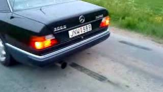 Mercedes 300 DT clean pipe