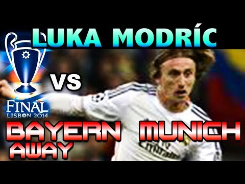 Luka Modric vs Bayern Munich AWAY UCL SEMIFINALS ( 29 - 04 - 2014 / 29/04/2014 - 29.04.2014 ) [HD]