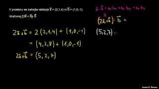 Skalarni produkt – primer