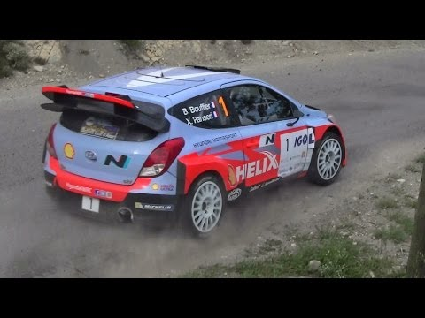 Championnat de France Rallye Antibes 2014 day 1