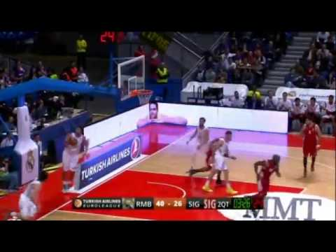 Euroleague 2013/14 : Real Madrid 79-66 Strasbourg