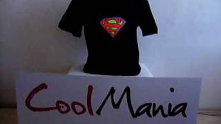 Superman  Led T-shirt - (www.cool-mania.eu)
