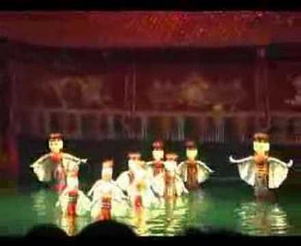 The Hanoi Water Puppet Show (Vietnam)