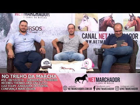 #52 - 08/10/2018 -  THOMAS VASCONCELOS E LUIZ FELIPE JUNQUEIRA - MANGALARGA MARCHADOR