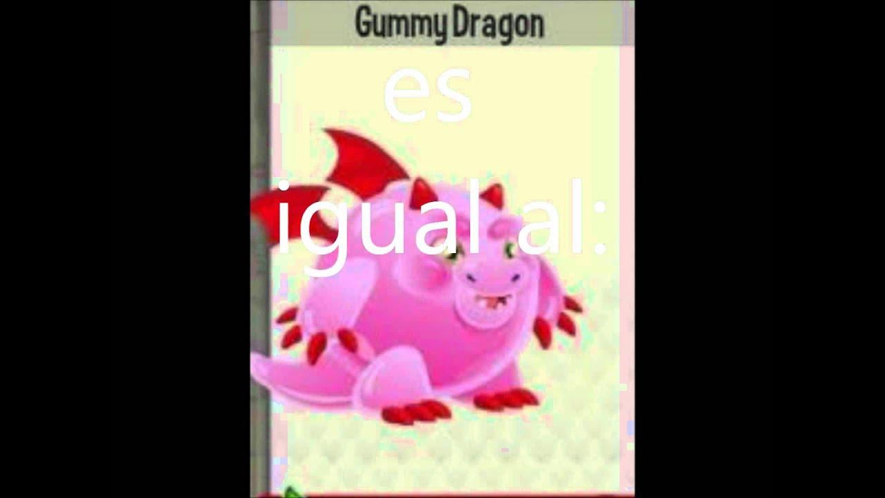 Dragón City Mezclas del dragón chicle y dragón fuego fresquito