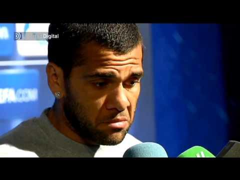 Dani Alves excusa la derrota en el césped