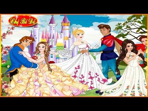 Trang phục cho buổi tiệc nhảy trong ngày cưới công chúa Disney ♥ Tập 2