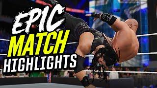 WWE 2K16 Wrestlemania 32 Roman Reigns vs. Triple H | Epic Match Highlights!