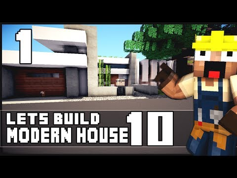 minecraft lets build a small luxury modern house 6x6 lot hd apps
