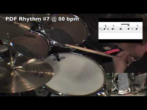 Drum Lesson: Billy Ashbaugh: Hi-Hat Up Beat Grooves Part 2