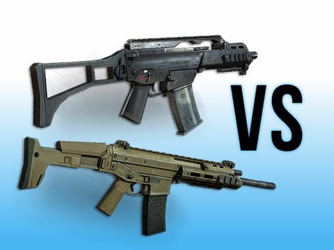 G36C vs. ACR 6.8 - MW3 Gun Comparison Commentary