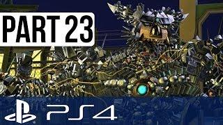 Knack Gameplay Walkthrough Part 23 - Chapter 9!! (PS4 Gameplay 1080p HD)