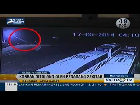 Korban Perkosaan Ditolong Pedagang Terekam CCTV   Metrotvnews com