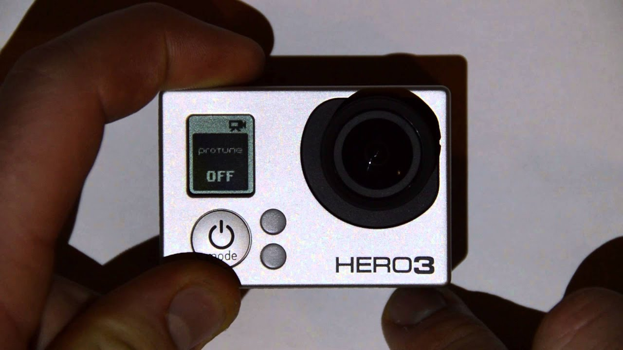 how to turn the volume off on a gopro
