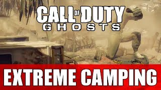"COD Ghost Extreme Camping #1 ""How To Camp On Call Of"