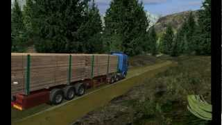 German Truck Simulator Extreme Trucker  HD 1080p 2