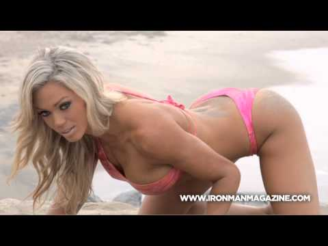 Fitness model Loni Willison for Iron Man Magazine Swimsuit Spectacular