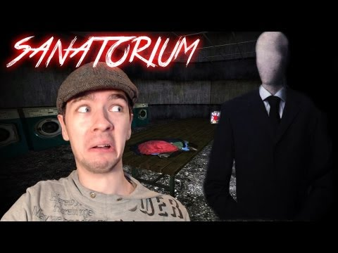 Slenderman's Shadow:Sanatorium | ALONE WITH SLENDY | Indie Horror Game - Commentary/Facecam reaction