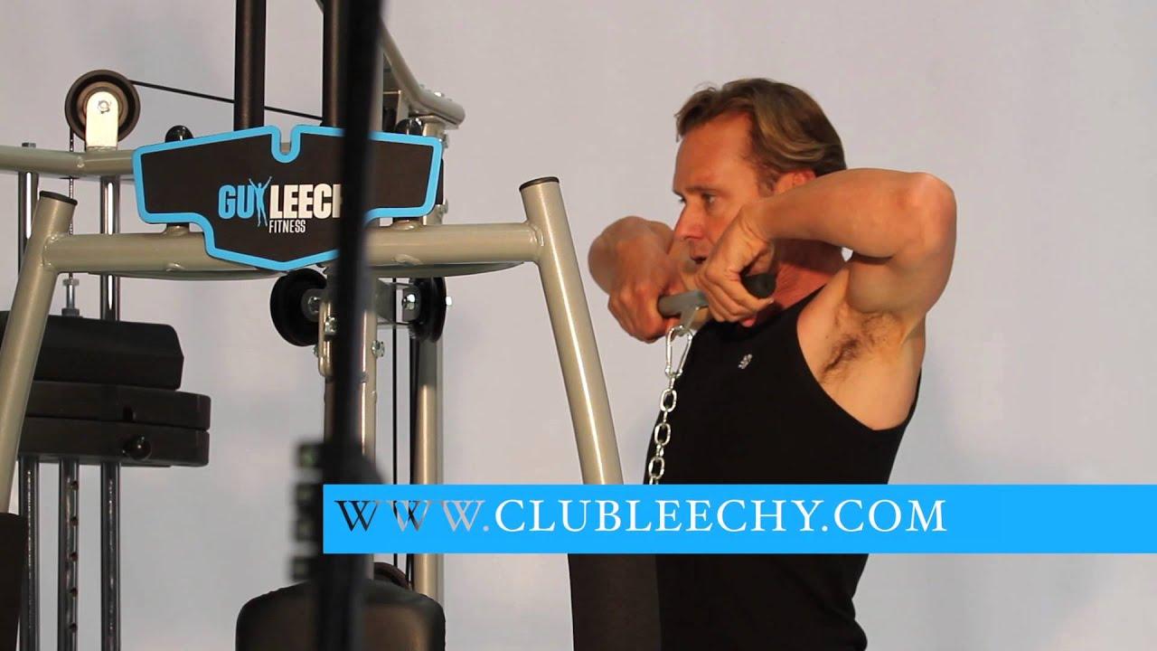 guy leech home gym instruction manual