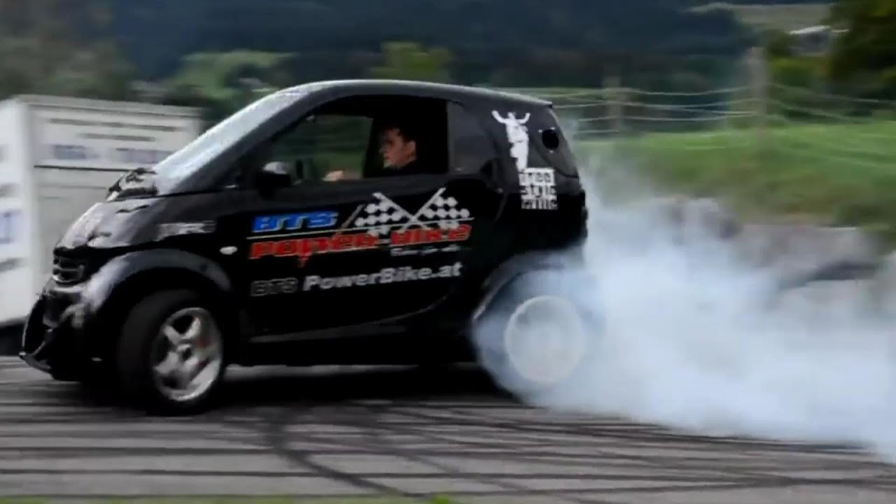 Smart Car With Hayabusa Turbo Engine Smart Hayabusa