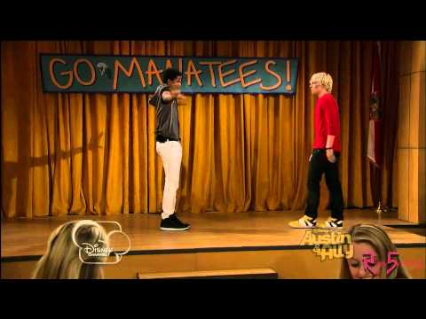 Austin and Trent Dance Off , Austin Moon, played by Ross Lynch, is challenged to a dance off by Trent, played by Trevor Jackson, in the latest episode of Disney Channel's hit new show.