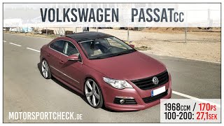 VW Passat CC 2.0 TDI CR DSG 170 PS 0-239 Kmh
