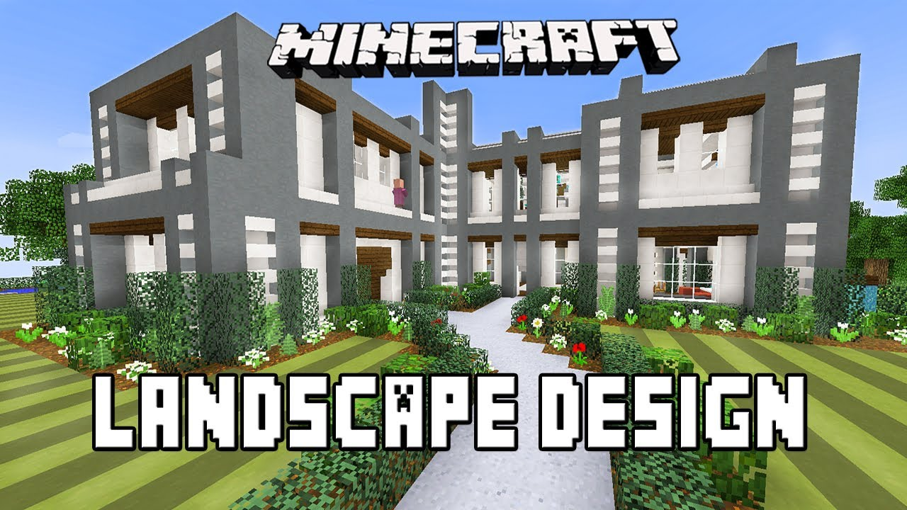 Landscape ideas in minecraft 28 images modren minecraft garden minecraft r to designs - Minecraft garden designs ...