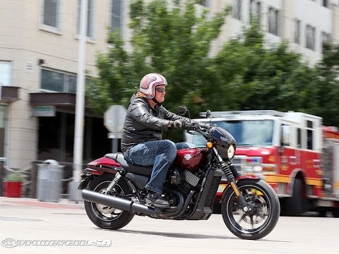 2015 Harley-Davidson Street 750 Second Ride - MotoUSA