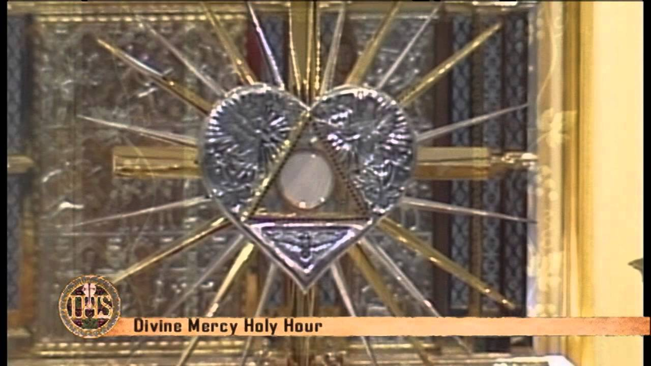 DIVINE MERCY HOLY HOUR (FROM HANCEVILLE) - 2014-4-27 - YouTube