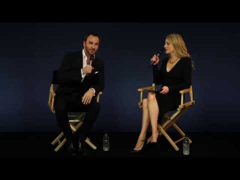 Tom Ford Interview with Lady Kinvara Balfour At Apple Store Regent Street