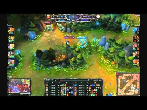 SAJ Highlights - SAJ vs SGS Game 1 (10.09.2012)