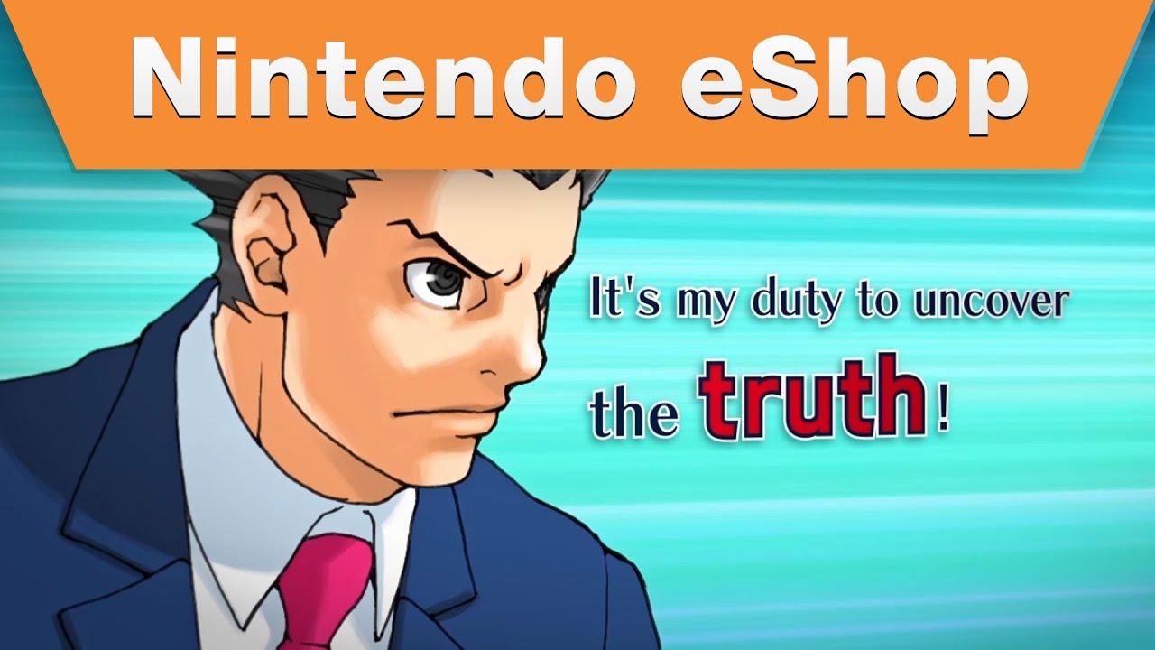 Phoenix Wright: Ace Attorney Trilogy Nintendo 3DS Box Art