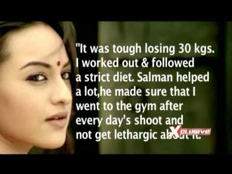 Sonakshi's journey from 'Fat to Fit'